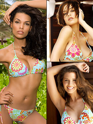 Miss Universo principal, Miss Republica Dominicamna, Miss Colombia, Miss Mexico