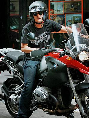 Orlando Bloom,Famosos sobre ruedas