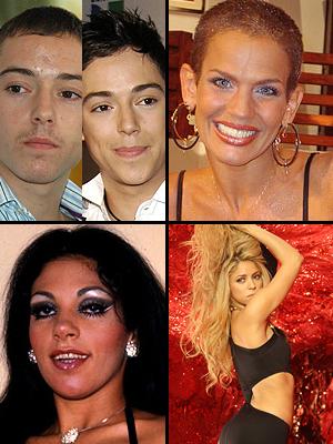 Premios People En Espanol 2009. La sorpresa del año: Pee Wee, Niurka, Gina Montes, Shakira