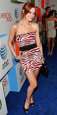Ashlee Simpson, animal print