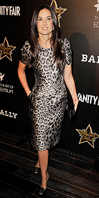 Demi Moore, ANIMAL PRINT
