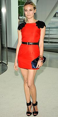 Diane Kruger, rojo