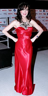 Edith González, rojo
