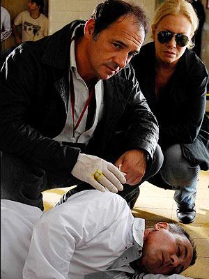 Julio Chávez y Cecilia Roth en Epitafios