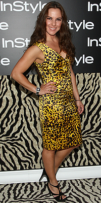 Kate del Castillo, animal print