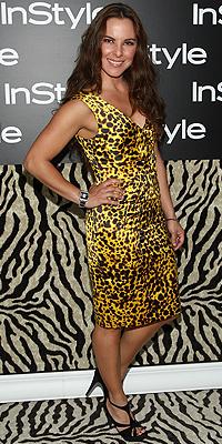 Kate del Castillo, animal print