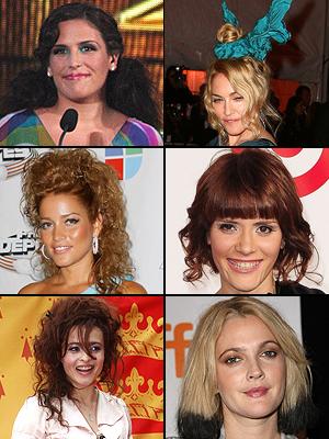 Angélica Vale, Madonna, Drew Barrymore, Adriana Fonseca, Kany García