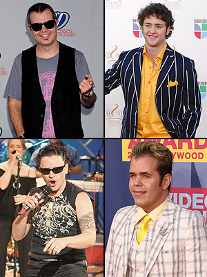 Alex Syntek, Elvis Crespo, Christopher Von Uckermann, Pérez Hilton