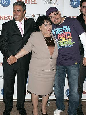 Carmen Salinas, Luis Gatica, Mauricio Castillo