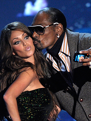 Anahí y Snoop Dogg
