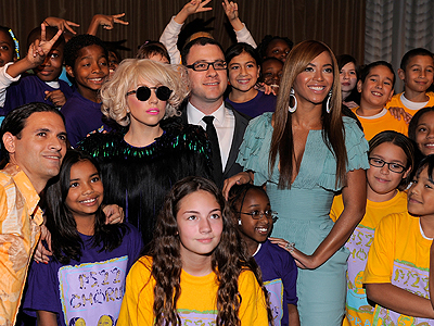 Lady Gaga, Beyoncé