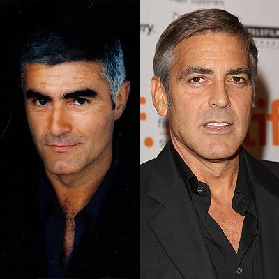 Saul Lisazo y George Clooney, Separados al nacer