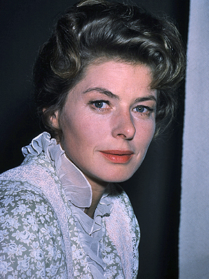 Ingrid Bergman, famosas con cáncer
