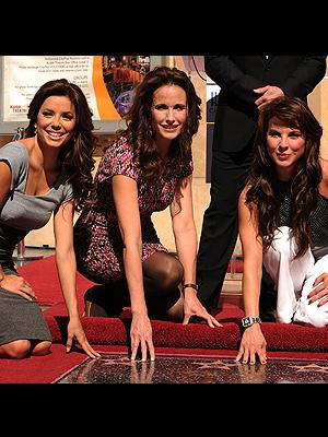 Kate del Castillo, Andie McDowell, Eva Longoria Parker