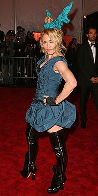 Madonna, peor vestidas