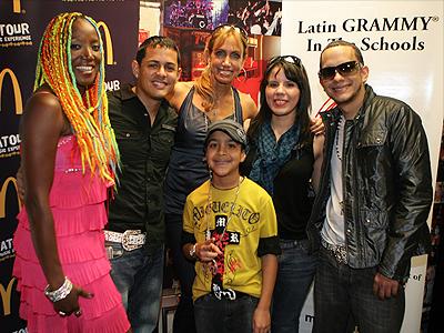 Lucrecia, Angel y Khriz, Lili Estefan, Miguelito, Alih Jey