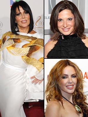 Alejandra Guzmán, Ana María Polo, Kyle Minogue, famosas con cáncer