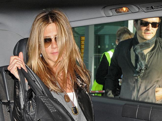 Jennifer Aniston, Orlando Bloom