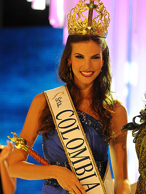 Natalia Navarro, Miss Colombia 2009