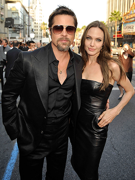 Brad Pitt, Angelina Jolie, Escándalos