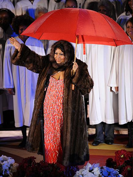 Aretha Franklin, Famosos Navidad