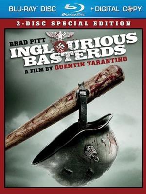 Inglorious Basterds en DVD y Blu-Ray