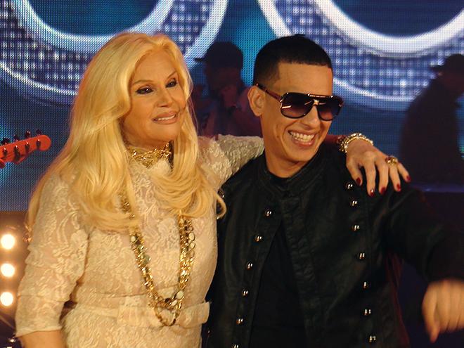 Daddy Yankee, Susana Giménez