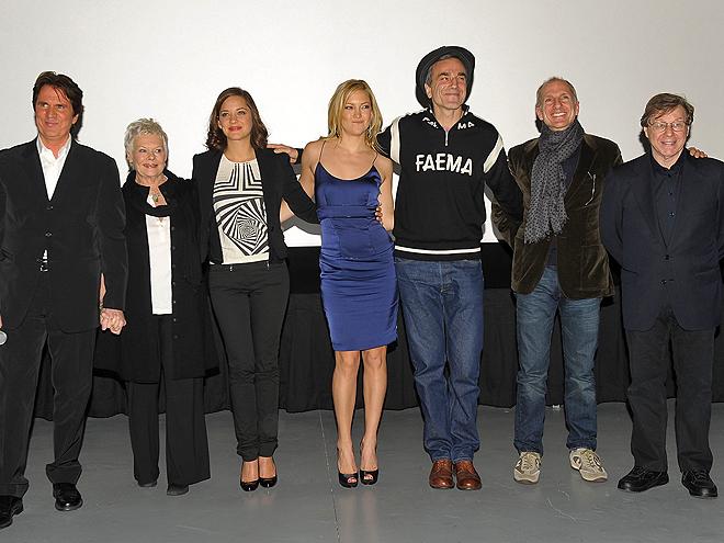 Kate Hudson, Daniel Day-Lewis, Judi Dench, Marion Cotillard