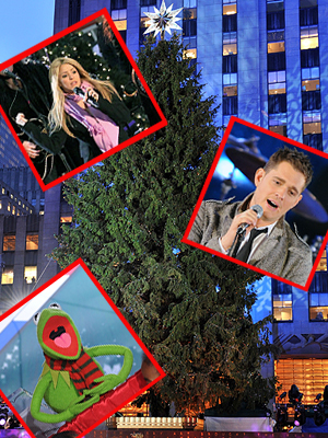 Famosos Navidad, Shakira, Michael Bublé, Rana René