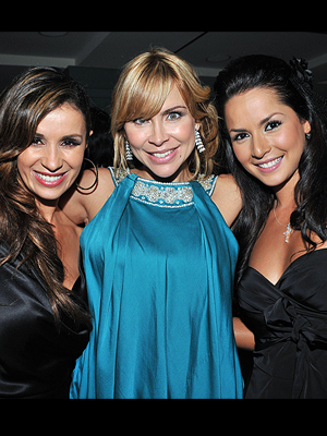 Catherine Siachoque, Aylín Mújica, Carmen Villalobos