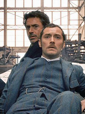 Jude Law, Robert Downey Jr., Sherlock Holmes
