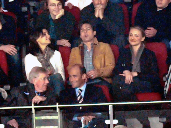 Tom Cruise, Katie Holmes, Cameron Díaz