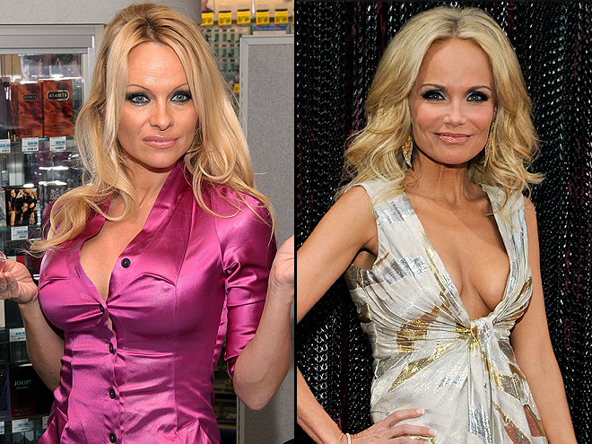 Kristen Chenoweth, Pamela Anderson, Separados al nacer
