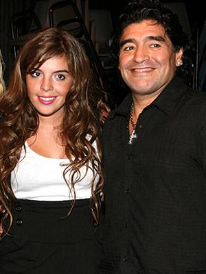 Dalma Maradona, Diego Armando Maradona