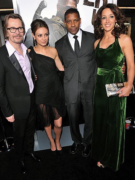 Denzel Washington, Gary Oldman, Jennifer Beals, Mila Kinis