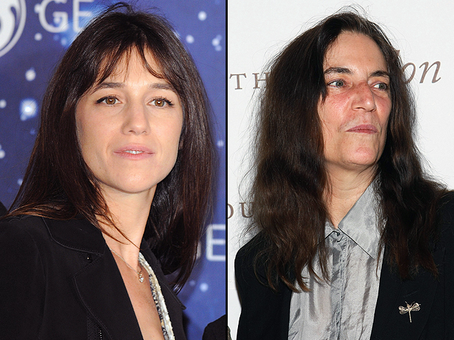 Charlotte Gainsburg, Patti Smith, Separados al nacer
