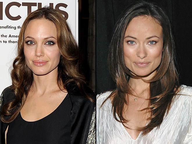 ANGELINA JOLIE AND OLIVIA WILDE