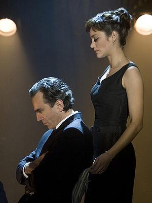 "Daniel Day-Lewis, Marion Cotillard en ""Nine"""