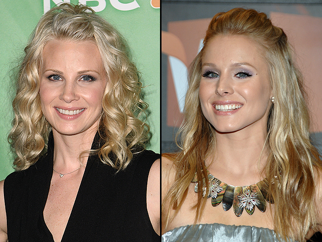 MONICA POTTER AND KRISTEN BELL