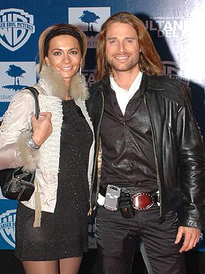 Sebastian Rulli y Cecelia Galeano