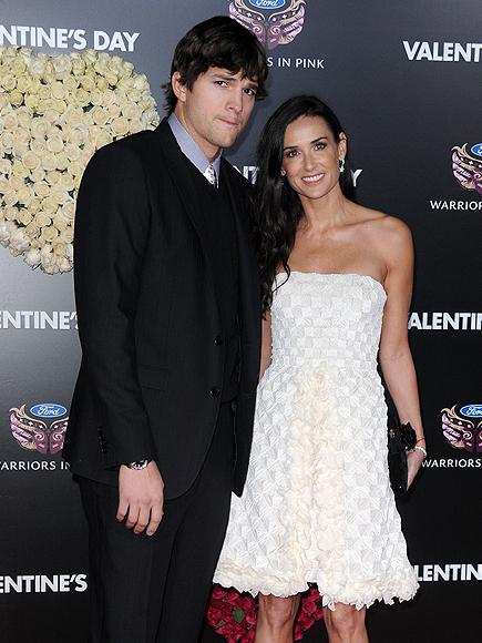 Ashton Kutcher, Demi Moore, El amor acaba