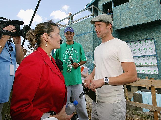 Brad Pitt, Stars giving back