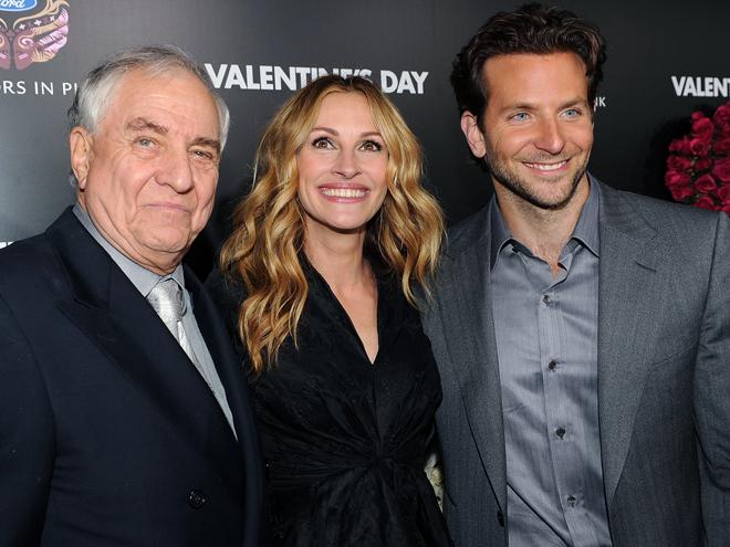 Garry Marshall, Julia Roberts, Bradley Cooper