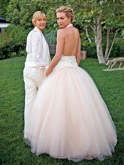 Ellen Degeneres, Portia de Rossi, Novias