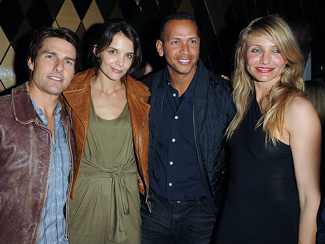 Tom Cruise, Katie Holmes, Alex Rodríguez, Cameron Díaz