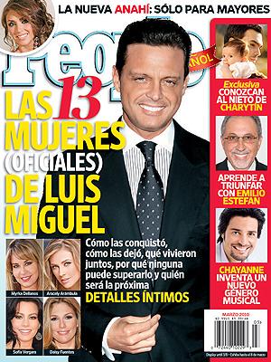 Luis Miguel, portada People En Español marzo 2010
