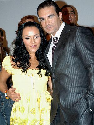 Mauricio Islas e Ivonne Montero en La loba
