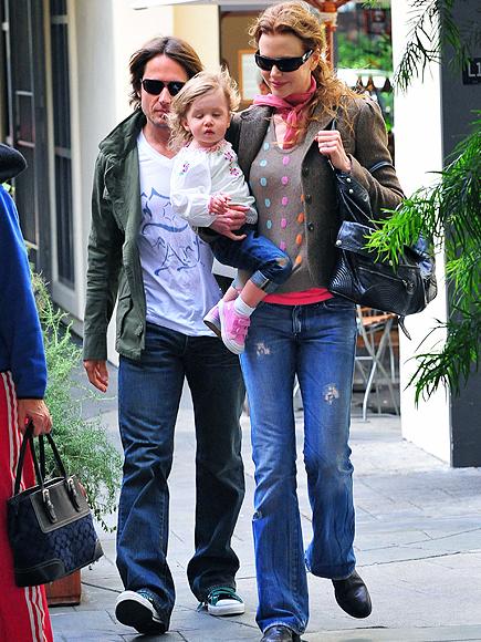 Nicole Kidman, Keith Urban, Sunday Rose
