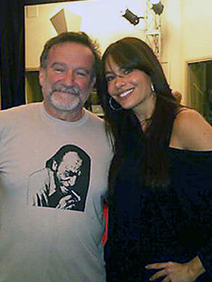 Sofía Vergara, Robin Williams