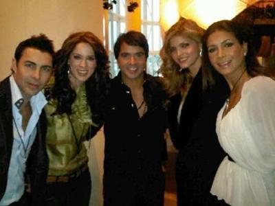 Nicolás Felizola, Jacqueline Bracamontes, Luis Fonsi, Ana Bárbara, Patricia Manterola